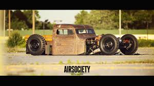 lifted jeep truck jeep willys village customs airsociety rat rod bagged air