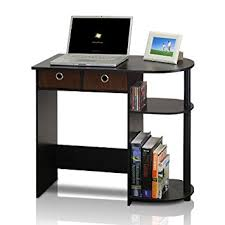Computer Desk Amazon by Amazon Com Furinno 11193ex Bk Br Go Green Home Laptop Notebook