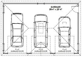 Double Car Garage Size Dimensions Of Two Car Garage Cool 7 Car Garage Door Dimensions