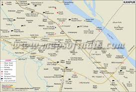 kanpur city map