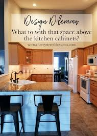 what to do with cabinets design dilemma what to do with the space above my kitchen