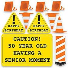 amazon com 50th birthday yard decoration caution 50 year old