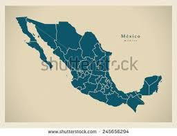 map of mexico with states mexico map vector free vector stock graphics images