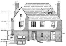 Tudor Revival Floor Plans Portfolio As Built Drawings Of Tudor Revival