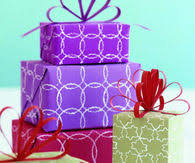purple gift wrap gift wrap pictures photos images and pics for