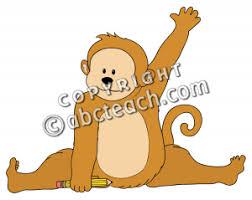 Raising Hand Meme - make meme with monkey raising hand clipart