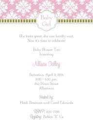 baby shower lunch invitation wording baby shower invitations wording ideas girl baby shower ideas gallery
