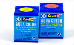 100 revell aqua color acrylic paint problem with thinning