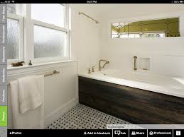 Eclectic Bathroom Ideas Tub Surround Reclaimed Wood For The Home Pinterest Tub