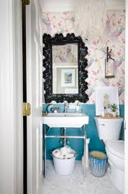 Dark Blue Powder Room Small Powder Room Makeover The Chronicles Of Home