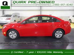 certified pre owned 2016 chevrolet cruze limited ls 4dr car in