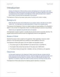 statement of work template apple iwork pages