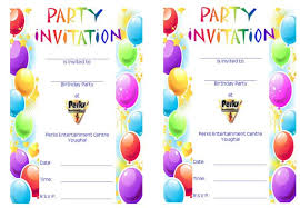 birthday invitation template 40 free birthday party invitation templates template lab