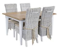 Painted Dining Chairs by Ennaoj Painted Dining Table 4 Ayam White Wash Dining Chairs