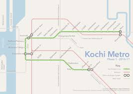 Singapore Metro Map by List Of Kochi Metro Stations Wikipedia