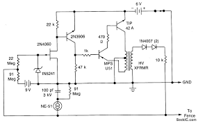 electric fence schematic how to make fence