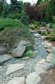 River Rock Garden by The 25 Best Dry Riverbed Landscaping Ideas On Pinterest Stones