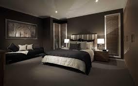 Black Dark Feature Wall Bedroom Sexy Elegant Sleek Bedroom - Feature wall bedroom ideas