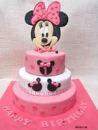minnie mouse 1st birthday cake fondant cake images
