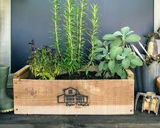 Planter With Legs by Antique Revival Rectangular Windowsill Planter With Wooden Legs
