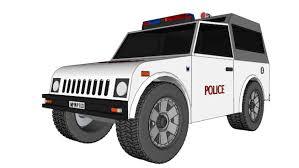 gypsy jeep indian police car jeep suv maruti suzuki gypsy 3d warehouse