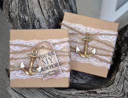 nautical wedding favors will you be my bridesmaid nautical bridesmaid boxed invite anchor