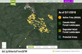 Canada Wildfire Satellite by 5 Images Explain Why The Alberta Forest Fires Are So Hard To Stop