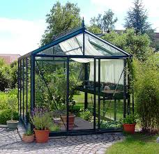 the line of exaco small backyard greenhouses