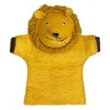 lion puppet felt lion puppet trade aid