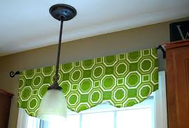 Patterns For Curtain Valances Valance Curtains Green Window Valance Diy Curtain Valance