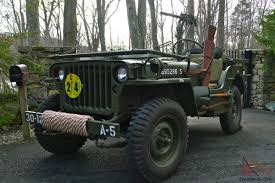 wwii jeep willys willys mb wwii military jeep army antique classic fully