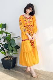 aliexpress com buy new folk style cotton women u0027s v neck cotton