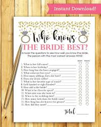 interactive bridal shower best 25 bridal shower ideas on bridal party