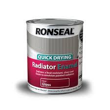 quick drying radiator enamel ronseal