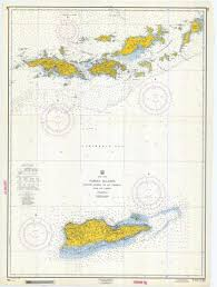 map of the bvi caribbean maps tagged bvi map nautical chart prints