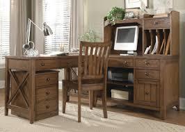 L Shaped Desk With Drawers Loon Peak Methuen 5 Piece L Shape Desk Office Suite U0026 Reviews