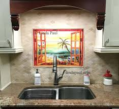 kitchen tile backsplash murals tile backsplash murals kitchen kitchen tile murals