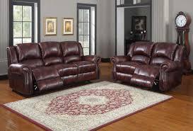 furniture leather power reclining sofa burgundy leather sofa
