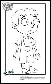 phineas and ferb baljeet tjinder coloring pages coloring pages