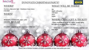 christmas party 2016 innovate trust