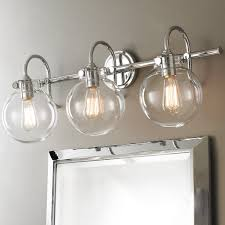 Bath Ceiling Light Fixtures Retro Glass Globe Bath Light 3 Light Shades Of Light
