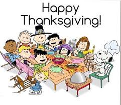 happy thanksgiving peanuts thanksgiving