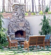 brick what veneer best fits your outdoor fireplace