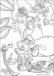 madagascar 3 coloring pages printable cartoon