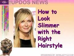 hairstyles that thin your face hairstyles for round faces youtube