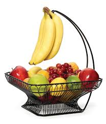 gourmet fruit gourmet basics by mikasa countryside fruit basket with
