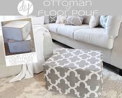 Made Ottoman by Diy Ottoman Or Floor Pouf Diy Ottoman Floor Pouf And Mattress