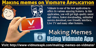 How To Create Memes App - download vidmate music downloader download vidmate application