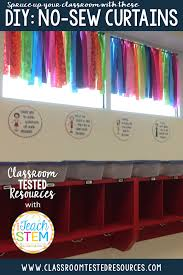 diy creating no sew curtains classroom tested resources