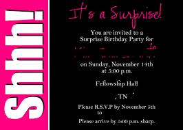 5th birthday party invitation surprise birthday party invitations cimvitation